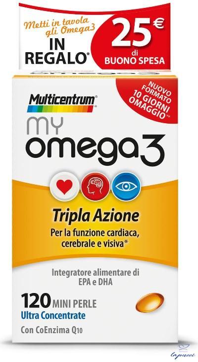 MULTICENTRUM MY OMEGA3 120 MINI PERLE PROMO