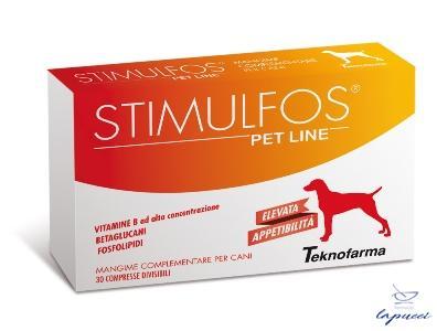 STIMULFOS PET LINE CANE MANGIME COMPLEMENTARE SCATOLA 30 COMPRE