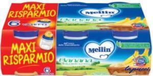 MELLIN OMOGENEIZZATO BANANA 6 X 100 G