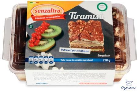 SENZALTRO TIRAMISU' SURGELATO 270 G