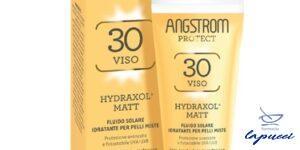 ANGSTROM PROTECT HYDRAXOL MATT FLUIDO SOLARE PROTEZIONE 30 PELL
