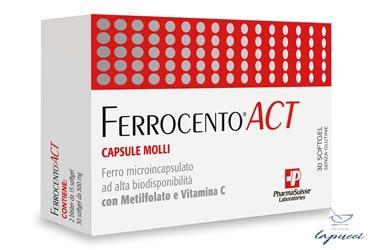 FERROCENTO ACT 30 CAPSULE MOLLI