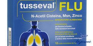 TUSSEVAL FLU 12 BUSTINE SOLUBILI 60 G