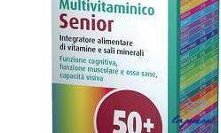 MULTIVITAMINICO SENIOR TEVA 30 COMPRESSE 39 G