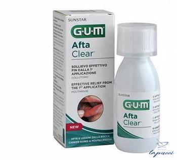 GUM AFTACLEAR RINSE 120 ML COLLUTORIO
