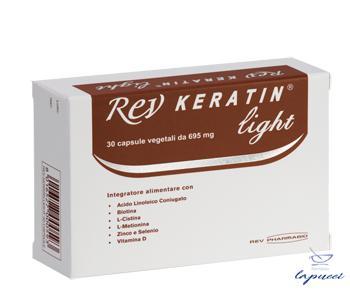 REV KERATIN LIGHT 30 CAPSULE