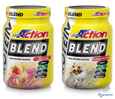 PROACTION PROTEIN BLEND FRAGOLA LIMONE 900 G
