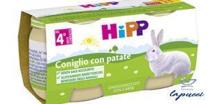 HIPP BIO OMOGENEIZZATO CONIGLIO CON PATATE 2X80 G