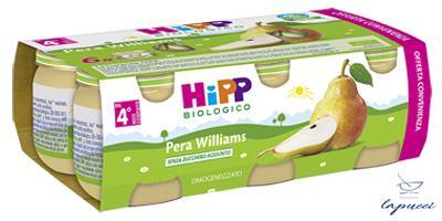 HIPP BIO OMOGENEIZZATO PERA WILLIAMS 6X80 G