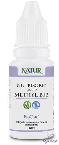 NUTRISORB LIQUID METHYL B12 15 ML