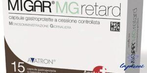 MIGAR MG RETARD 15 CAPSULE
