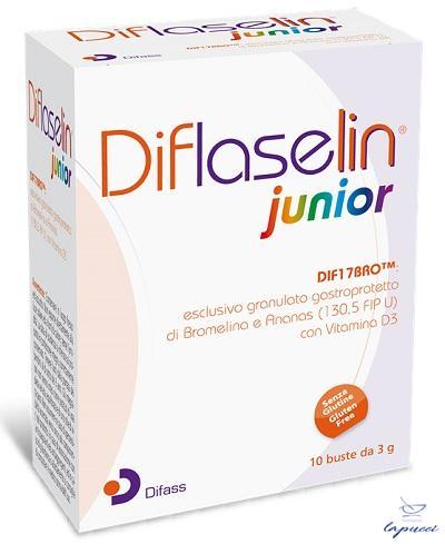 DIFLASELIN JUNIOR 10 BUSTE X 3 G