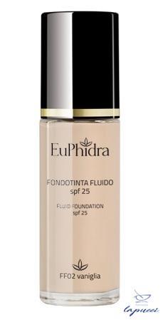 EUPHIDRA SKIN COLOR FONDOTINTA FLUIDO FF02 VANIGLIA