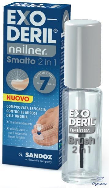 EXODERIL NAILNER TRATTA & COLORA KIT EXODERIL NAILNER SMALTO2 I