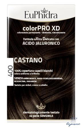 EUPHIDRA COLORPRO XD 400 CASTANO GEL COLORANTE CAPELLI IN FLACO