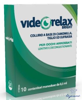 COLLIRIO LENITIVO DECONGESTIONANTE VIDEORELAX BRIGHT MONODOSE 0