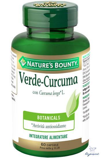VERDE CURCUMA 60 CAPSULE 33,2 G