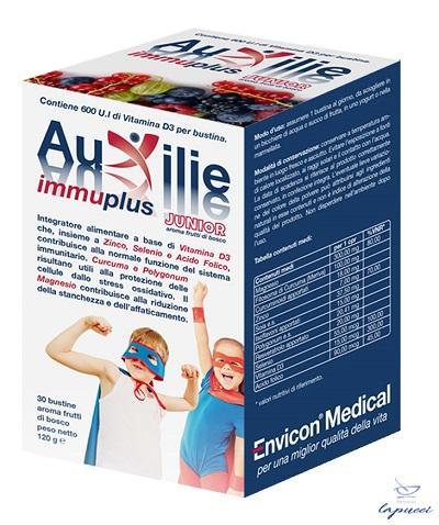 AUXILIE IMMUPLUS JUNIOR SOLUBILE 30 BUSTINE