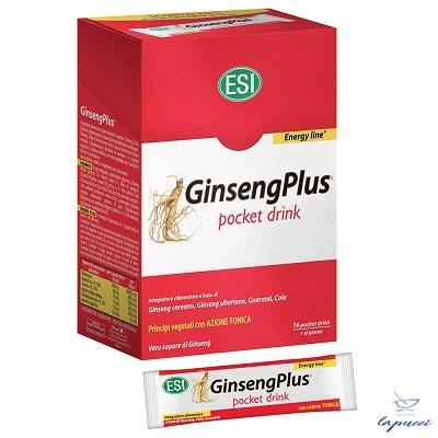 ESI GINSENGPLUS 16 POCKET DRINK