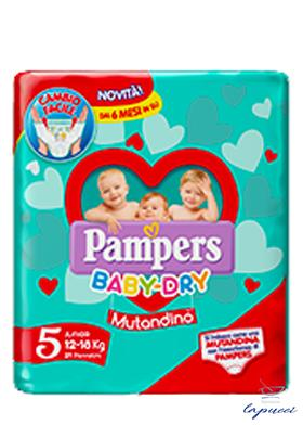 PAMPERS BABY DRY MUTANDINO SM TAGLIA 5 JUNIOR SMALL PACK 14 1 P