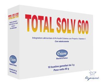 TOTAL SOLV 600 10 BUSTINE GEMELLARI