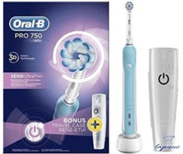 ORAL B POWER PRO 750 ULTRATHIN
