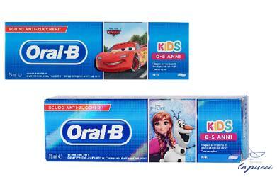 ORALB DENTIFRICIO KIDS FROZEN&CARS 0-5 ANNI 75 ML