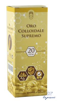 ORO COLLOIDALE SUPREMO 20PPM 100 ML