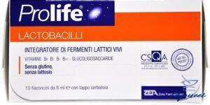 PROLIFE LACTOBACILLI 10 FLACONCINI 8 ML