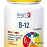 LONGLIFE B12 1000 MCG 60 COMPRESSE