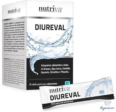 NUTRIVA DIUREVAL 15 STICK PACK DA 10 ML