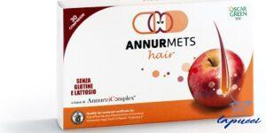 ANNURMETS HAIR 510 MG 30 COMPRESSE