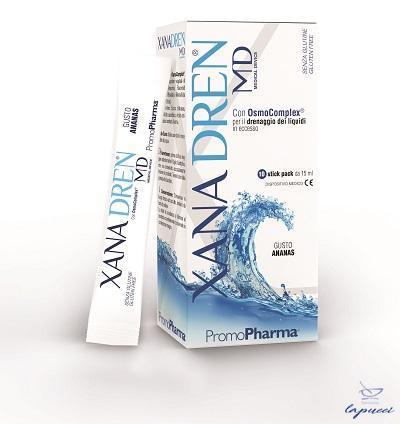 XANADREN MD ANANAS 10 STICK PACK X 15 ML
