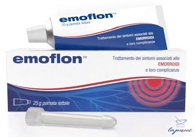 EMOFLON POMATA RETTALE TUBETTO 25 G CON APPLICATORE
