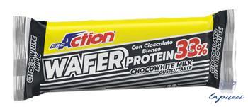 PROACTION PROTEIN WAFER CHOCOLATE WHITE MILK 40 G