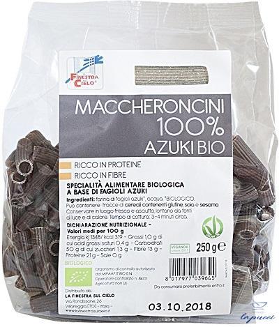 MACCHERONCINI 100% AZUKI 250 G