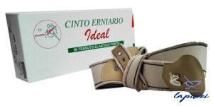 CINTO ERNIARIO IDEAL IN TESSUTO ELASTICO FORTE SINISTRO GRIGIO