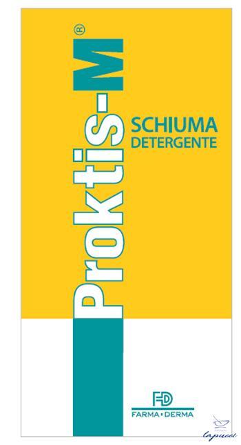 PROKTIS-M SCHIUMA DETERGENTE 150 ML