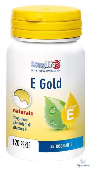 LONGLIFE E GOLD 90UI 120 PERLE