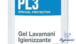 PL3 GEL LAVAMANI IGIENIZZANTE ANTIMICROBICO 75 ML