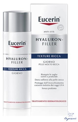 EUCERIN HYALURON-FILLER TEXTURE RICCA GIORNO 50 ML