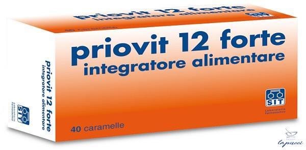 PRIOVIT 12 FORTE 40 CARAMELLE