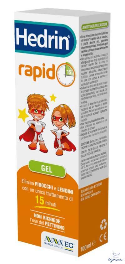 HEDRIN RAPIDO LIQUIDO GEL 100 ML