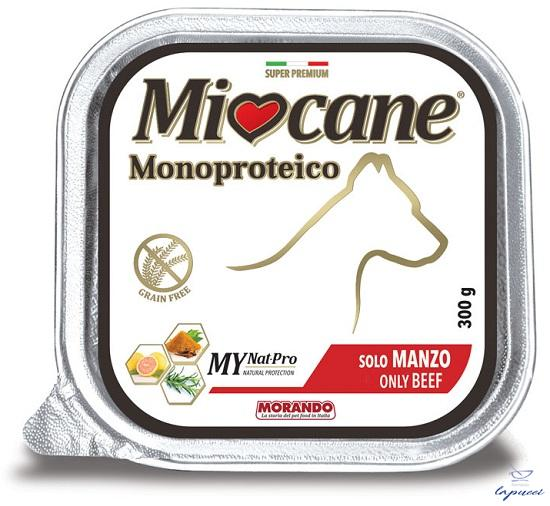 MIOCANE MONOPROTEICO MANZO 300 G