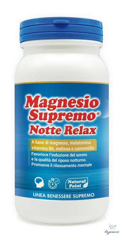 MAGNESIO SUPREMO NOTTE RELAX 150 G