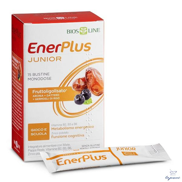 BIOSLINE ENER PLUS JUNIOR 15 BUSTINE X 10 ML