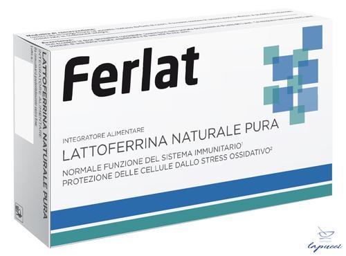 LATTOFERRINA NATURALE PURA 40 COMPRESSE FERLAT