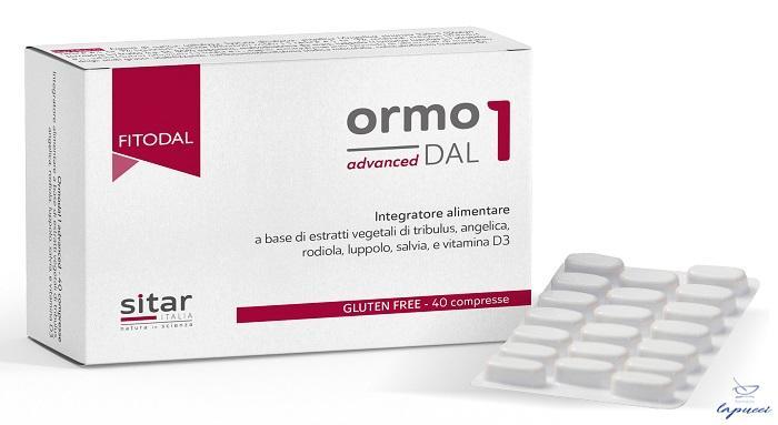 ORMODAL 1 ADVANCED 40 COMPRESSE 40 G FITODAL