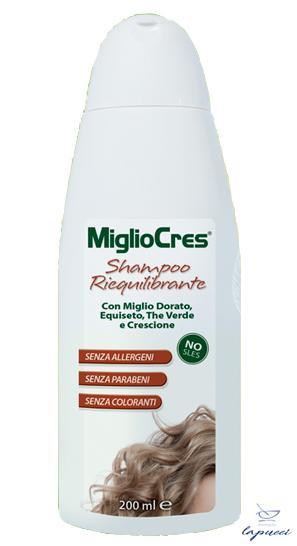 MIGLIOCRES SHAMPOO RIEQUILIBRANTE 200 ML