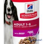 CANINE ADULT BEEF 370G